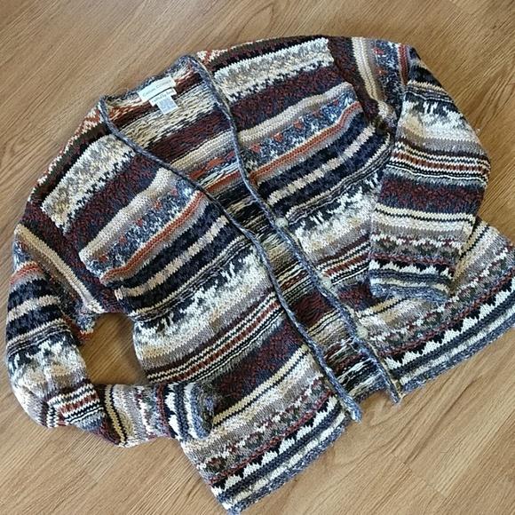 Casual Corner Sweaters - Casual Corner Hand Knit Sweater